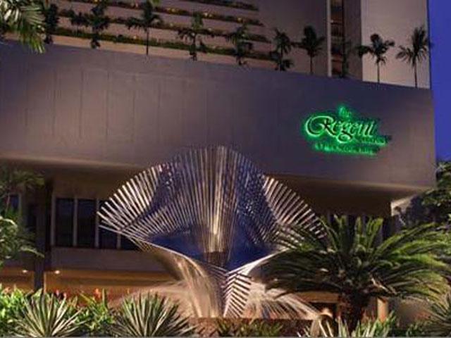 リージェントホテルでシンガポールにステイ