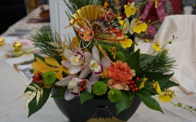 日比谷花壇のクリスマスとお正月 花を飾ろう♪
