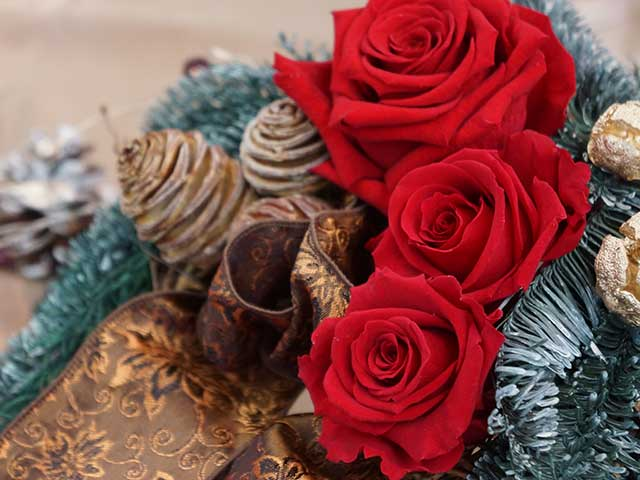 2wayのリース クリスマスとお正月